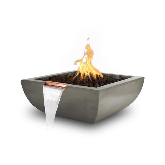 """36"""" Alicante Concrete Fire and Water Bowl"""