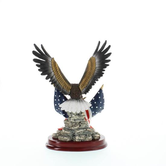 Patriotic Eagle Statue Sculpture 2