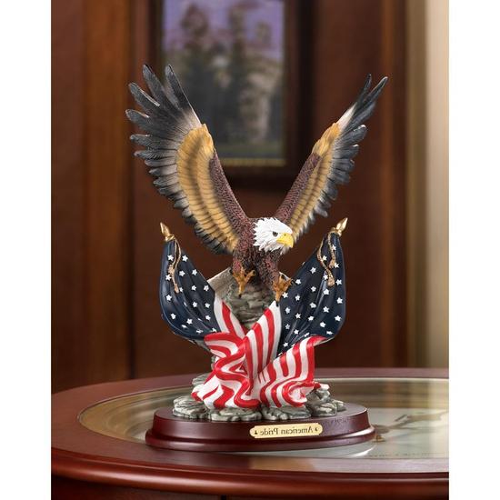 Patriotic Eagle Statue Sculpture 4