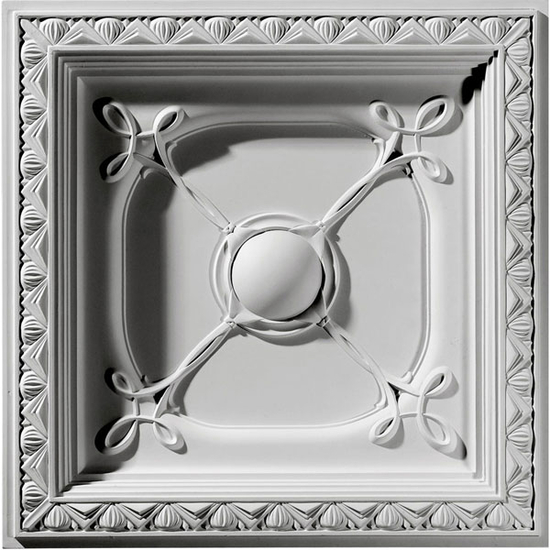 """24"""" Colonial Urethane Ceiling Tile"""