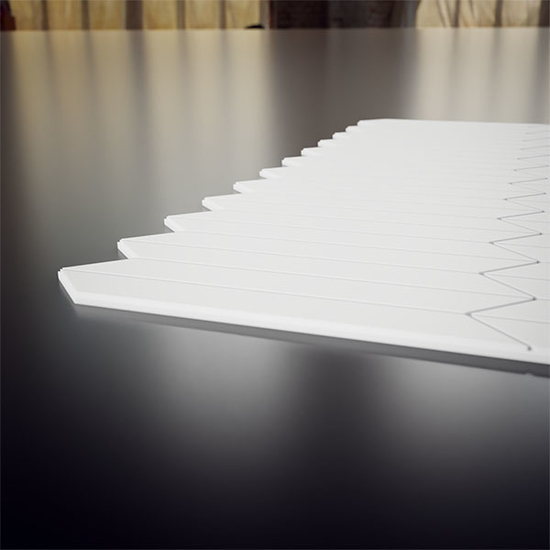 Mission Decorative Fretwork PVC Wall Panels Thickness View