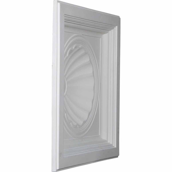 """24"""" Shell Urethane Ceiling Tile Angled View"""