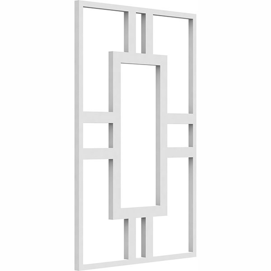 Hastings Decorative Fretwork PVC Wall Panel Angle View