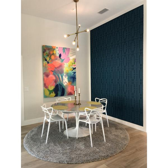 Hastings Decorative Fretwork PVC Wall Panel Dining Room View