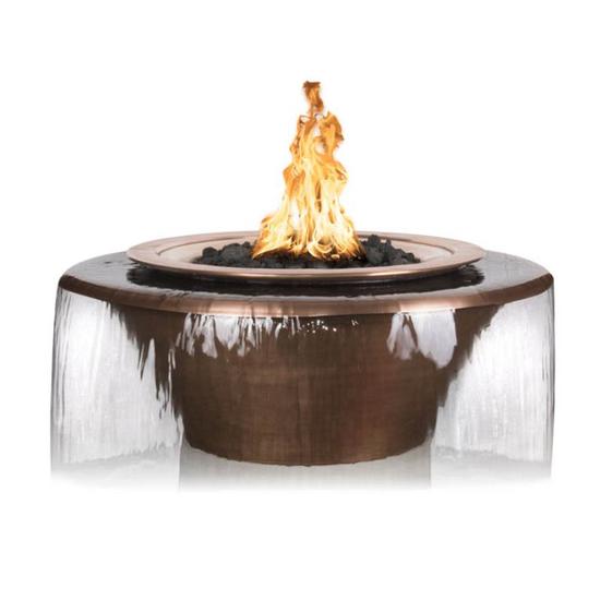 "30"" Cadiz 360° Copper Fire & Water Bowl"