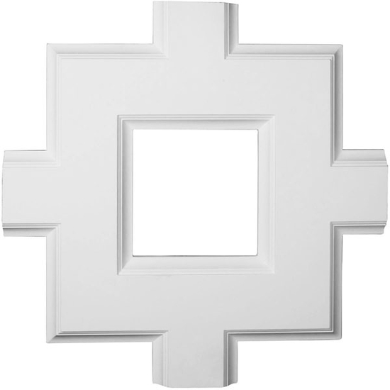 Inner Square Intersection for 8 inch Traditional Coffered Ceiling