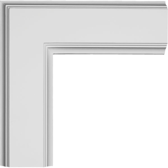 """Inner Corner for 5"""" Traditional Coffered Ceiling System"""