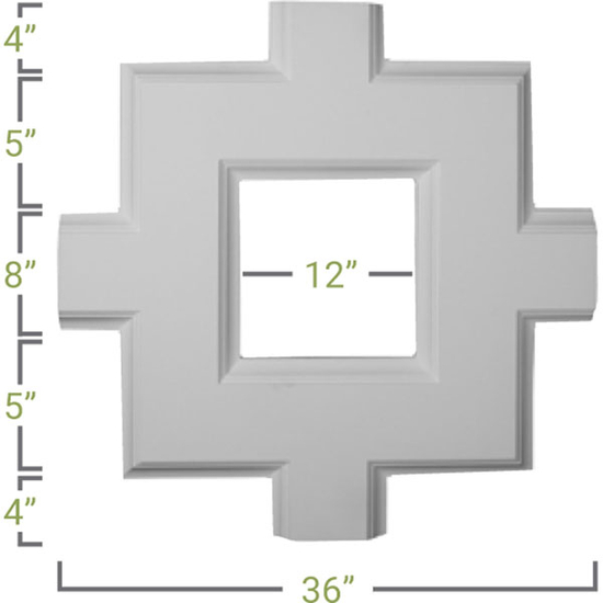 Inner Square Intersection Measurement