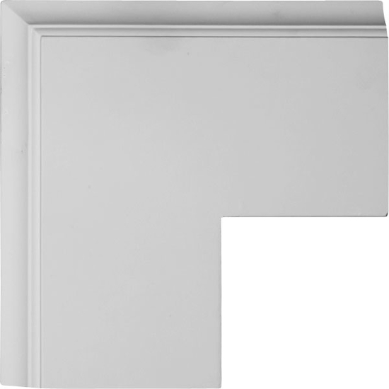 """Perimeter Outside Corner  for 8"""" Traditional Coffered Ceiling System"""