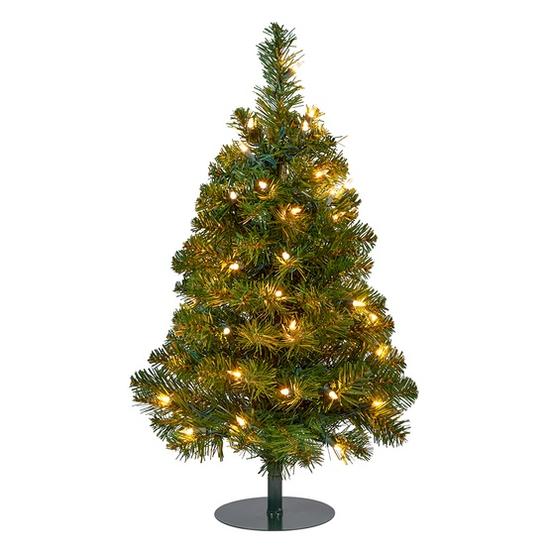 Winchester Fir Prelit Walkway Tree