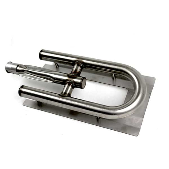 U-Shaped Center Feed Stainless Steel Tube Burner For Calise & Outdoor Kitchen Concept Grills