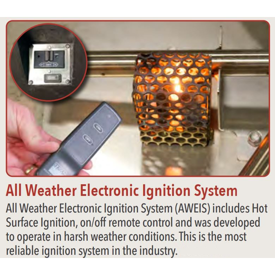 AWEIS System With On/Off Remote