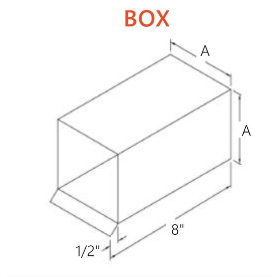 Box Scupper Specs