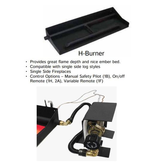 H Buner And Safety Pilot Valve