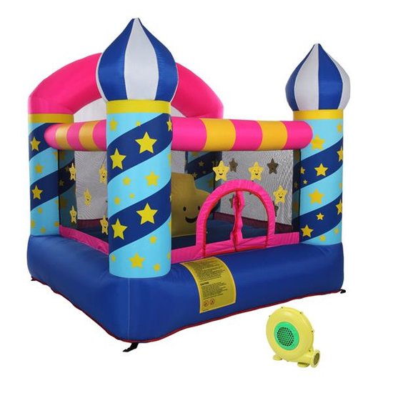 Stars Inflatable Castle