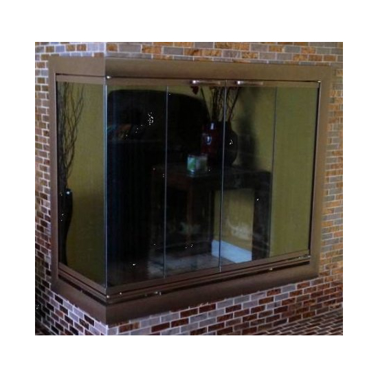 Brookfield Corner Fireplace Door For Multi Sided Fireplaces