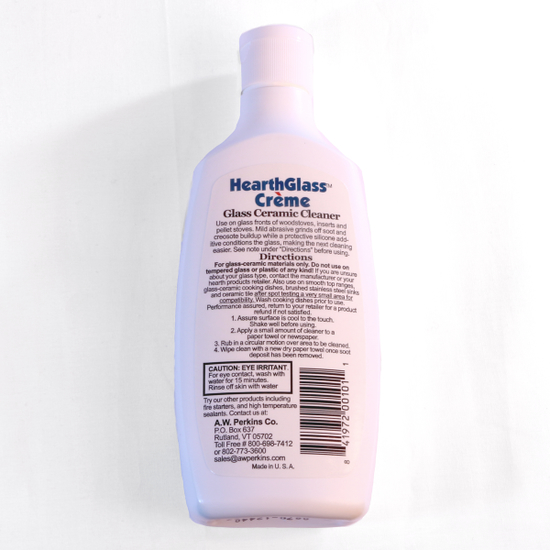 HearthGlass Creme Wood Stove Glass Cleaner