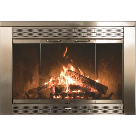 Bronze Fireplace Doors Glass - Fireplace Design Ideas