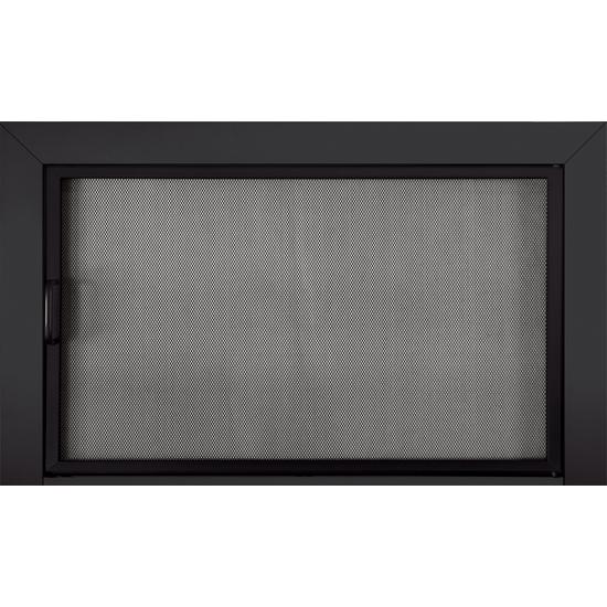 Reserve Clearview Mesh Door In Black