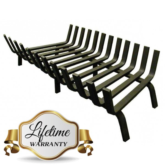 "36"" Lifetime Deep Forest Fireplace Grate"
