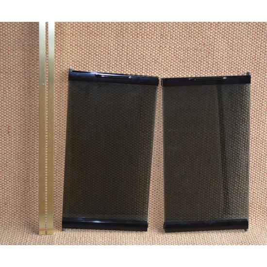 Glass Panes Closeup