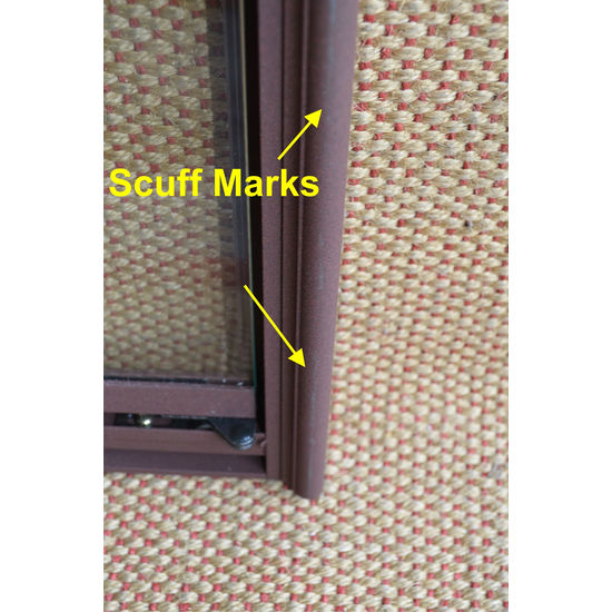 Scuff Marks Right Side On Frame