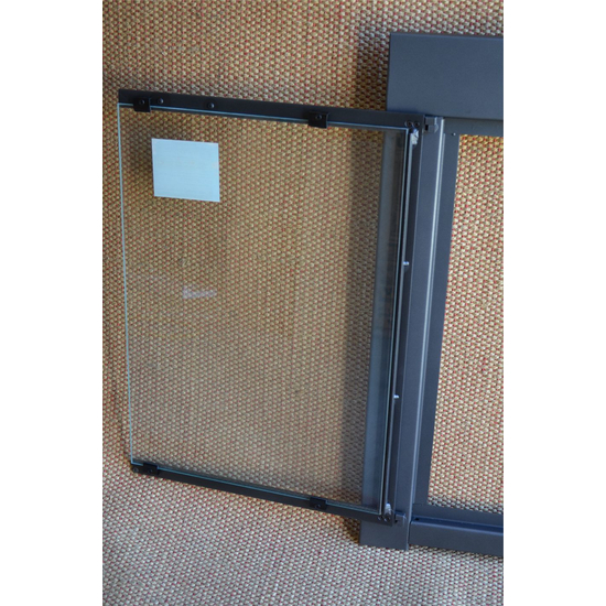 Cabinet Door Of Tusher Fireplace Enclosure