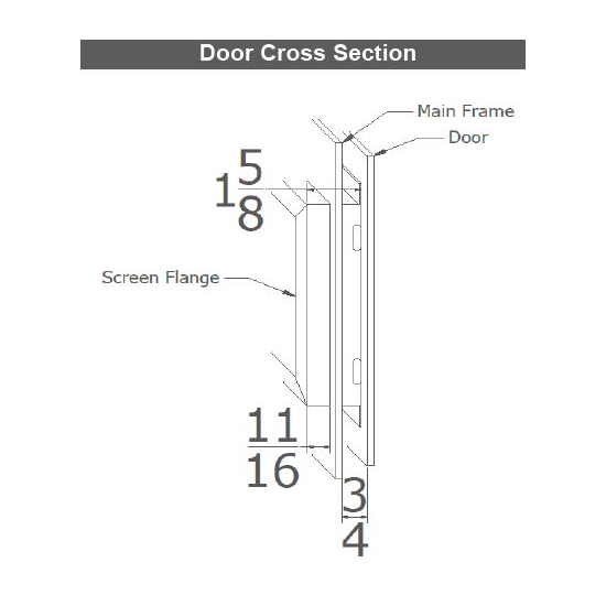 Saratoga Cross Section