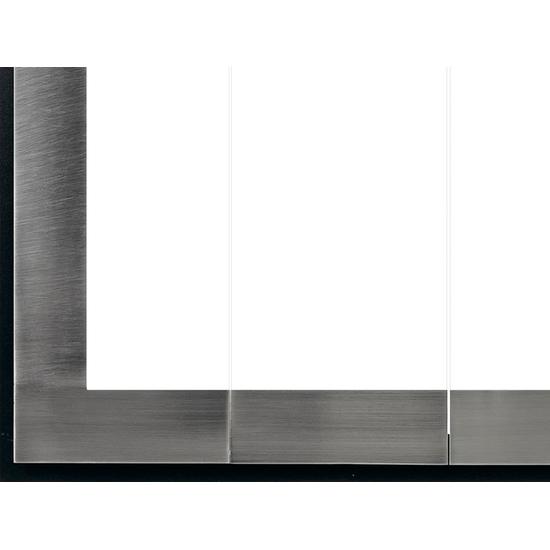 The Original Moderne has a matte black powder coat finish for the main frame.