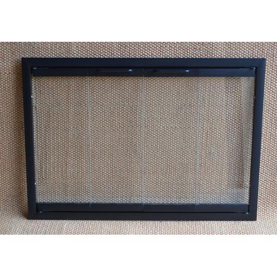 Pelham Glass Fireplace Door