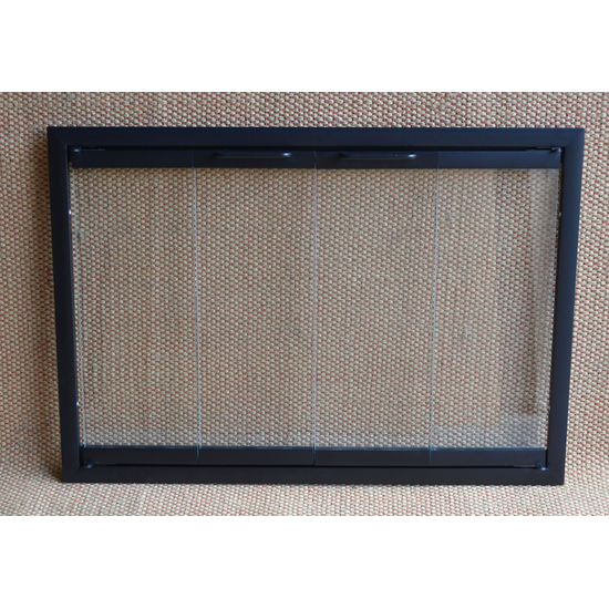 Pelham Glass Fireplace Door