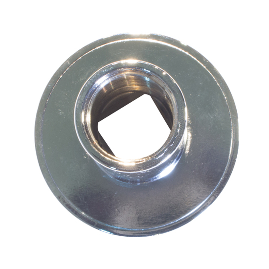 Chrome escutcheon