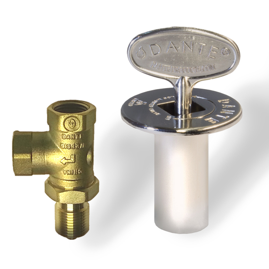 Pewter gas valve kit