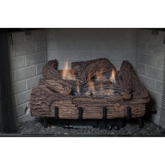 Palmetto Oak Vent-Free Gas Log