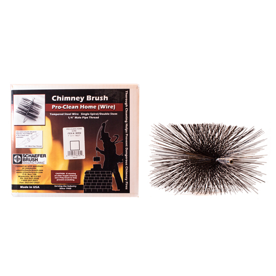 Rectangular Steel Chimney Brush