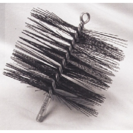 Round Steel Chimney Brush