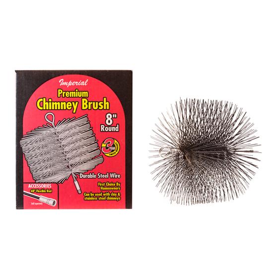 Round Steel Chimney Brush