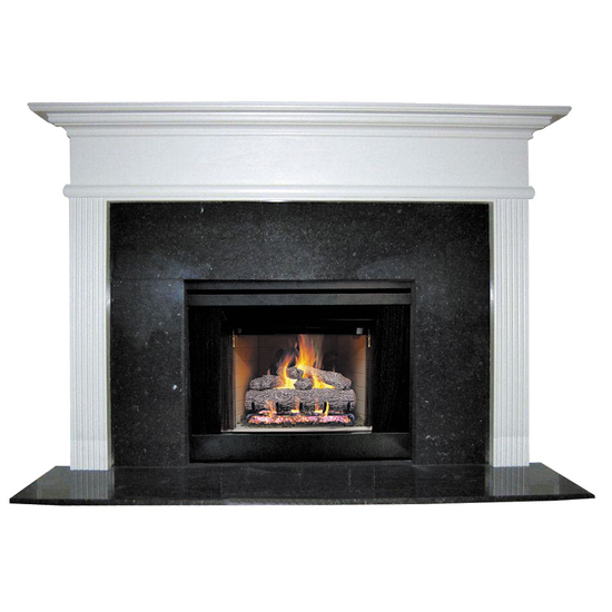 Cornelius Mantel - shown here painted in white.
