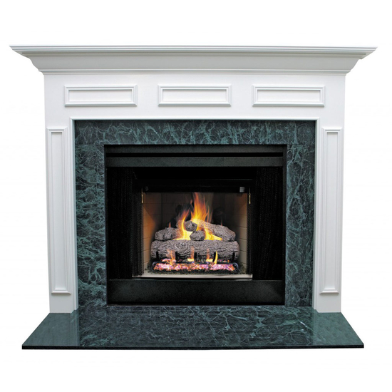 Donnelly Mantel - shown here painted in white