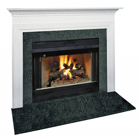 Hammond Mantel - shown here painted in white