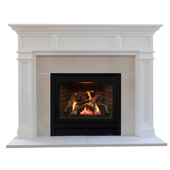 Carolina Mantel - shown here painted in white.