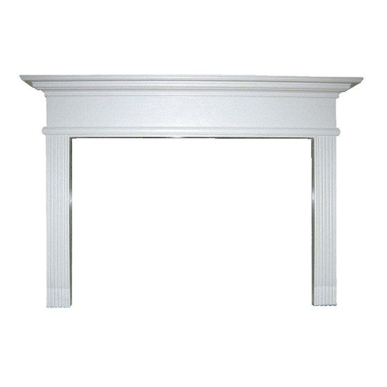 Cornelius Wood Fireplace Mantel
