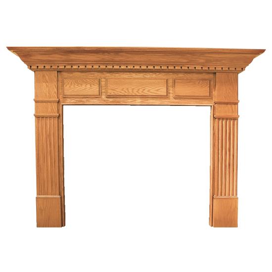 Kennedy Wood Fireplace Mantel