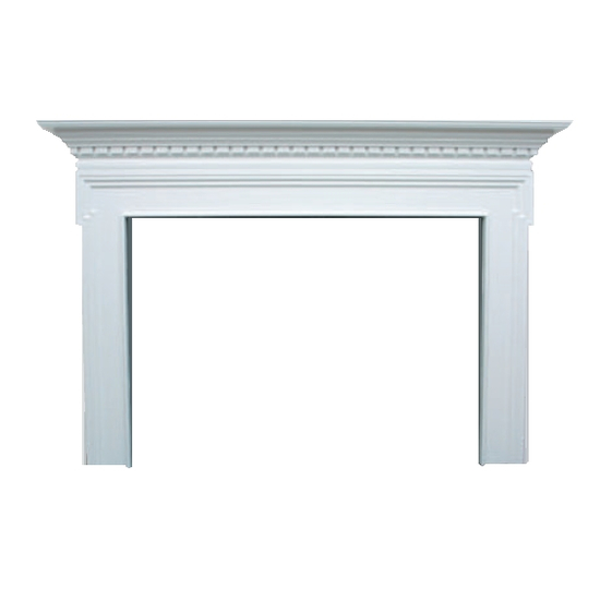 Seton Wooden Fireplace Mantel