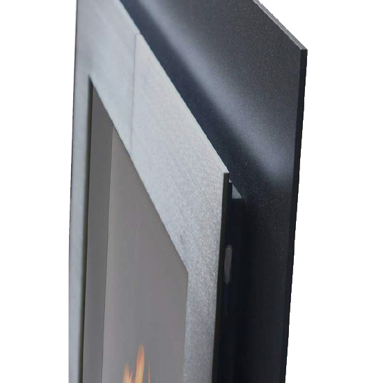 Door frame (shown in Brushed Nickel