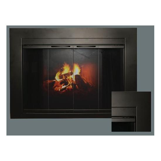 Fremont Masonry Fireplace Door