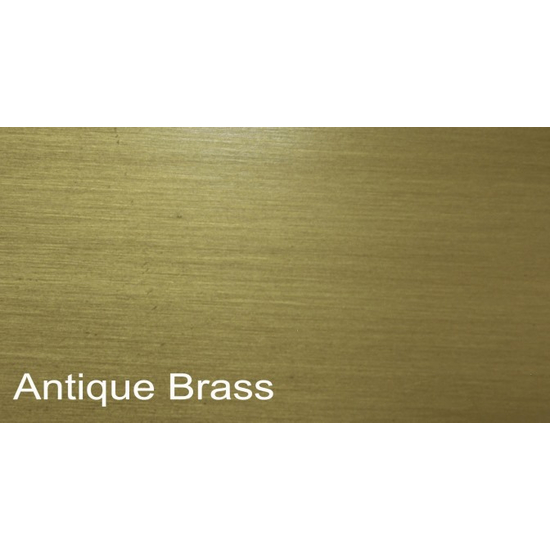 Plated Antique Brass Finish