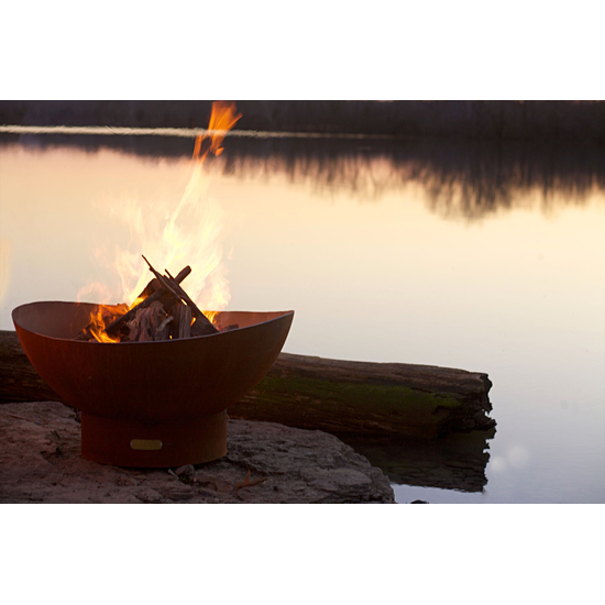 Scallops Wood Burning Fire Pit- 2