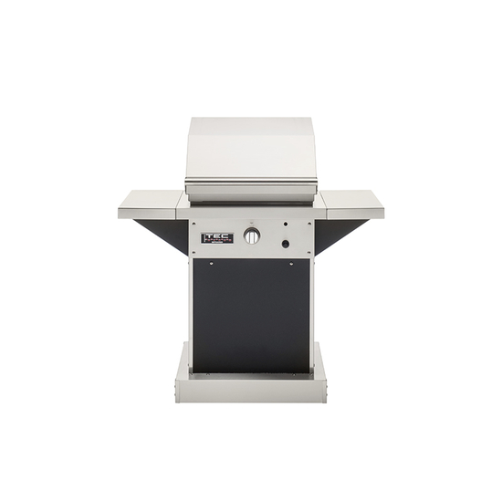 """TEC 26"""" Patio With Pedestal And Side Shelves"""