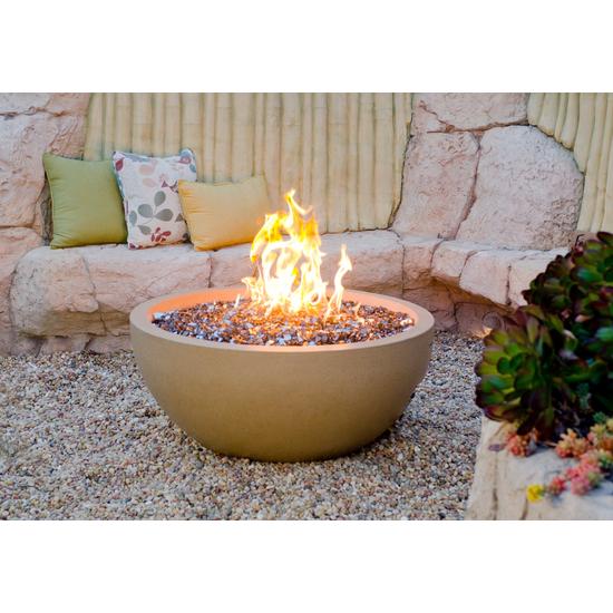 36 inch round fire bowl